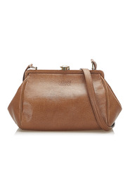Frame Leather Crossbody Bag