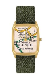 Belleville Perlon Watch