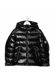 Down-filled padded jacket