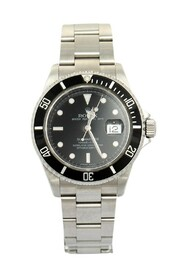 Pre-owned Stainless Steel Submariner 16610 T Automatic Men's Wristwatch