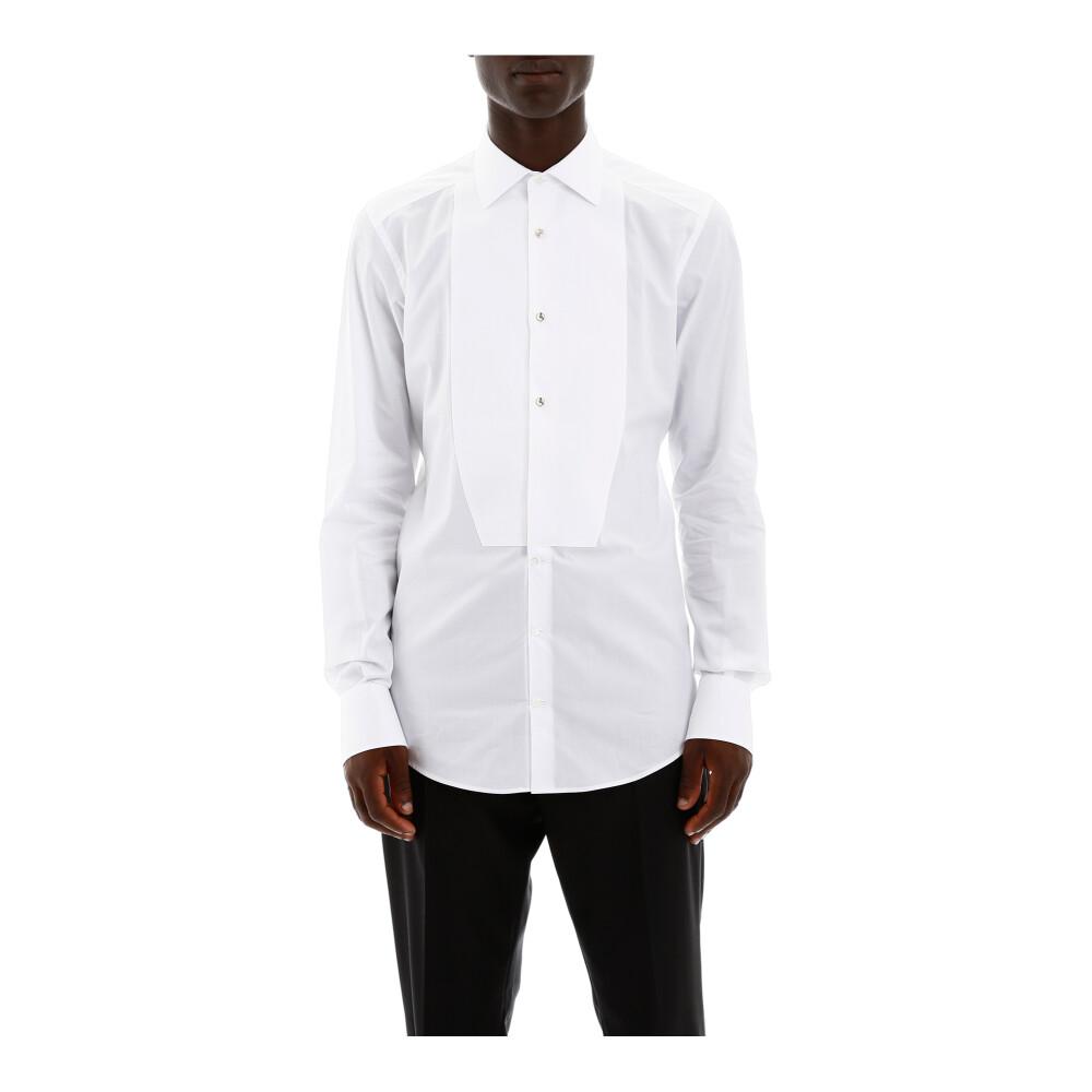 White tuxedo shirt | Dolce  Gabbana | Zakelijke Overhemden | Herenkleding
