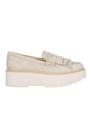 women's suede loafers moccasins h355