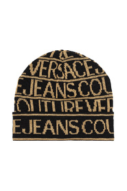 Ribbed hat with logo