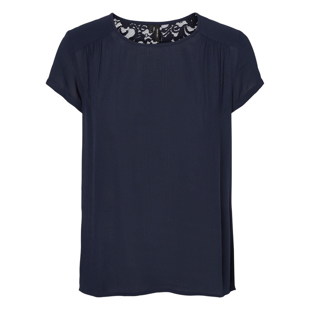 Short Sleeved Top Lace