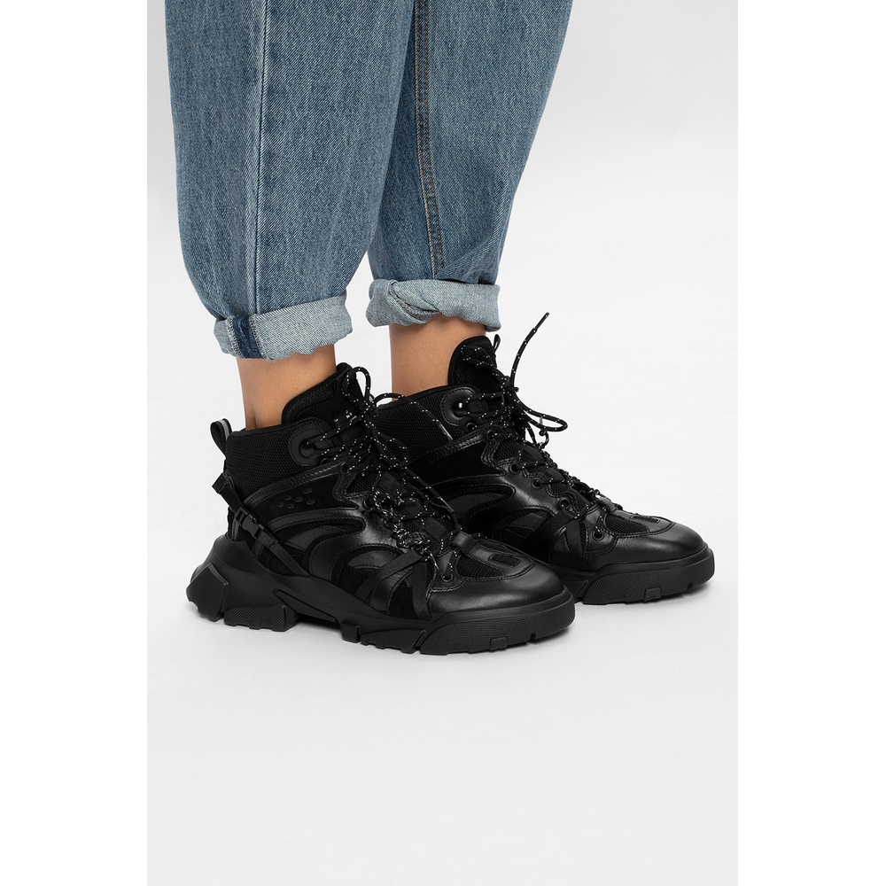 McQ Black Logo-patched sneakers McQ