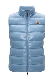 Gilet with logo