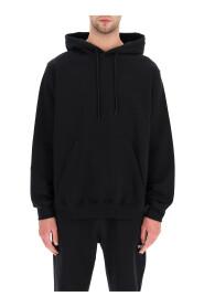 sweatshirt with logo hood