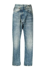 Crossover jeans in blue