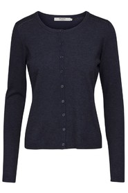 Minus - New Laura Cardigan - Black Iris melangé