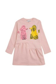 Dress with Poodle Print