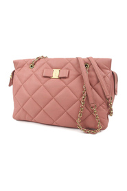 Vara Quilted Leather Shoulder Bag