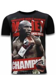 Money Champion - Digital Rhinestone T-shirt