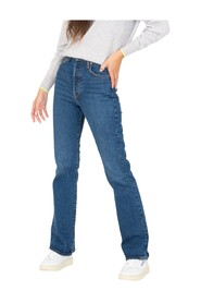 Bootcut ribcage jeans