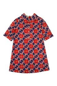 Interlocking G floral dress