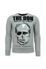 Godfather Sweater Godfather Mænds Sweater The Don