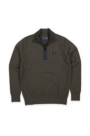 Butcher of Blue Pullover 1926002 CLIFDEN HALF ZI