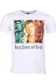 T-shirt - Scarface Money Power Respect Print