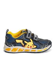 Blå/Gul Geox J Shuttle Sneakers, BN 328