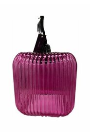 Super nice grooved glass lamp