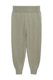 Baggy knit trousers