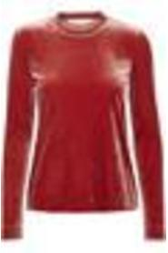 In Wear Voltaire LS Top Red Ochre