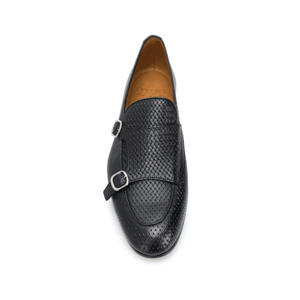black Loafers - DU2363CAPRUF073-NN00 | Doucals | Loafers | Men's shoes