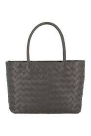 Small Intrecciato Leather Tote Bag