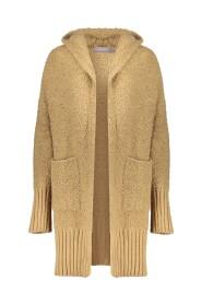 14604-70 boucle vest capuchon cardigan