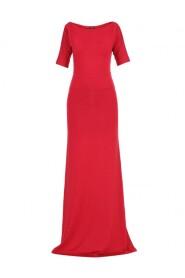 Sukienka prosta z rękawami długa