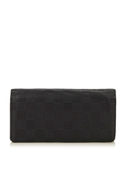 Damier Graphite Brazza Canvas Wallet