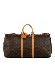 Pre-owned Monogram Keepall 55 Canvas
