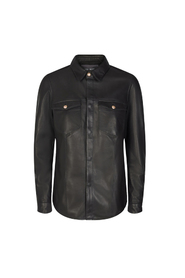 Elby Leather Shirt