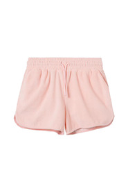 Terry low shorts, cannoli cream