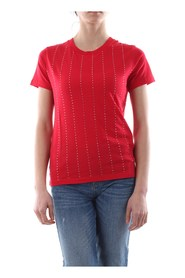 GUESS W01I70 K46D0 T SHIRT AND TANK Women Rosso