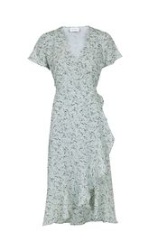 Magga Abstract Flower Dress