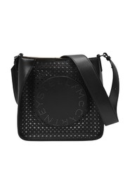 Mini Crossbody Laser Cut Bag Synthetic