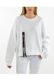 Sweatshirt with zip