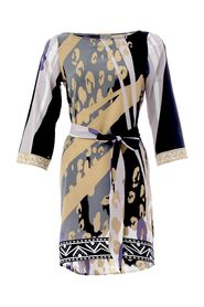 Belted Print Tunic