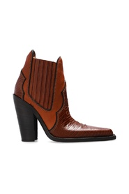 'Western' ankle boots