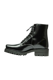 Florence Patent Leather Outdoor GreenBoots