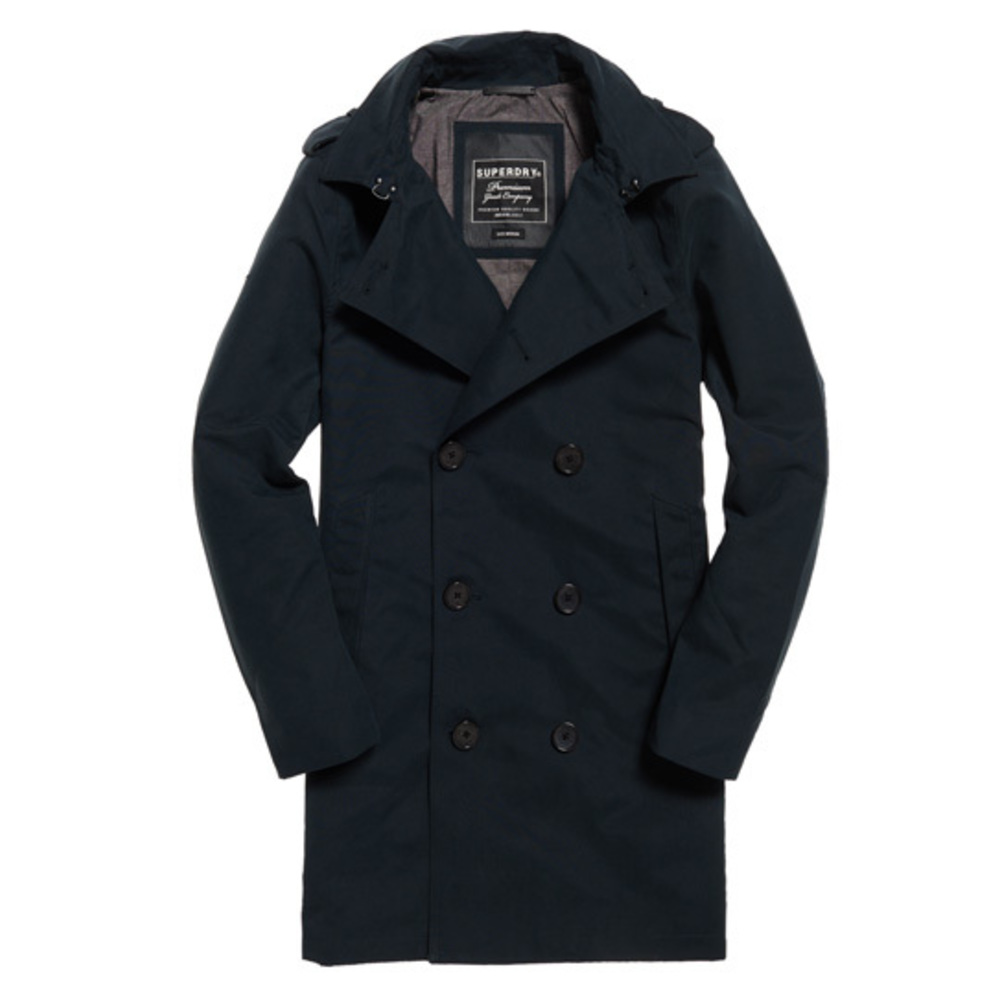 Superdry Premium Rouge Trenchcoat Teel