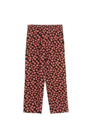 Lindale Crepe Trousers 403FIERY RED