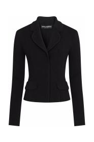 Single-breasted full Milano jacket