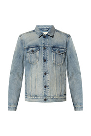 Destin stonewashed denim jacket