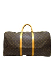 Pre-owned Monogram Keepall 60 Canvas