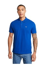 TOMMY JEANS DM0DM07196 SOLID STRETCH POLO Men SURF THE WEB