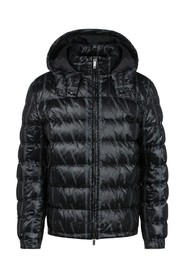 down jacket with VLTN print