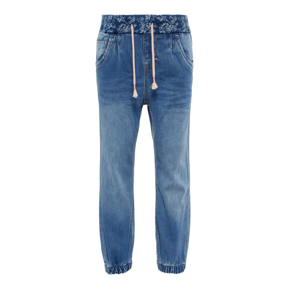 Pull-On Jeans baggy fit super stretch