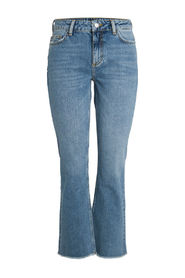 Pieces Flared Jeans Mid Waist