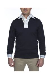 Solid Rugger Sweater